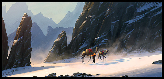 Insane Fantasy / Sci-fi Art by Raphael Lacoste