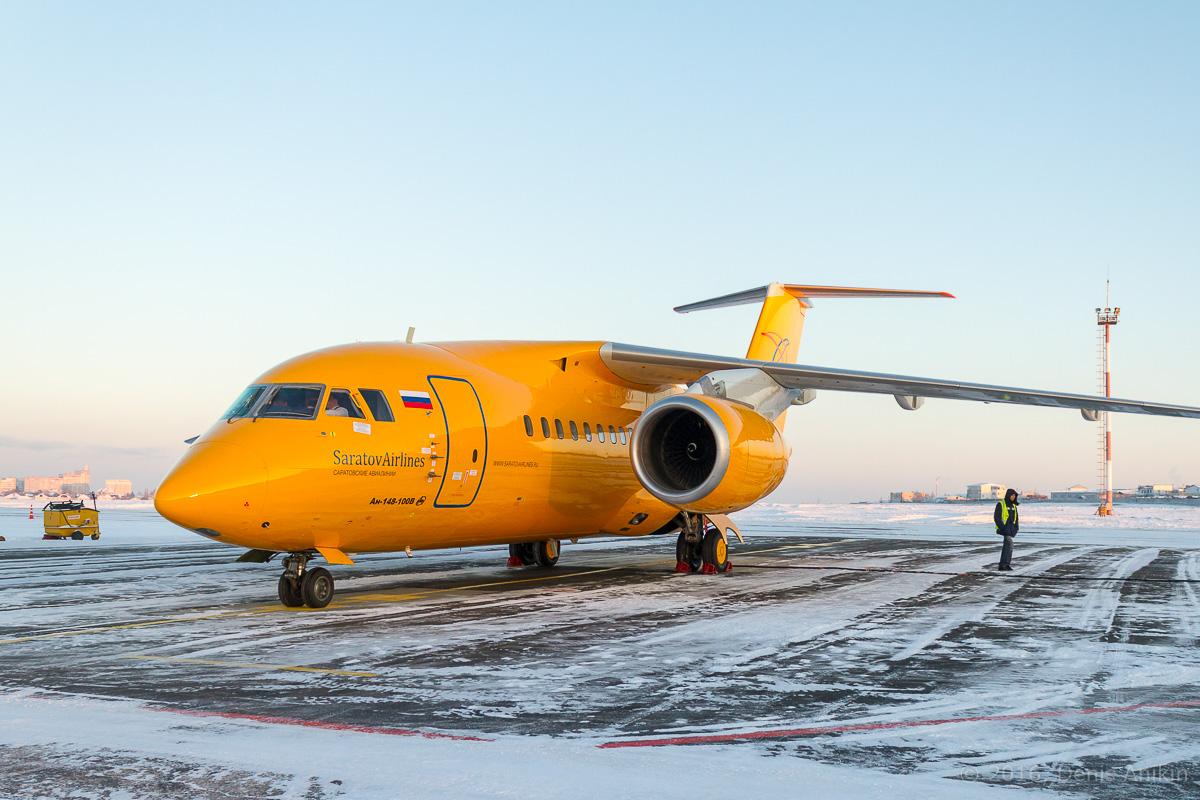 Ан-148 Саратовские авиалинии RA-61705 фото 1