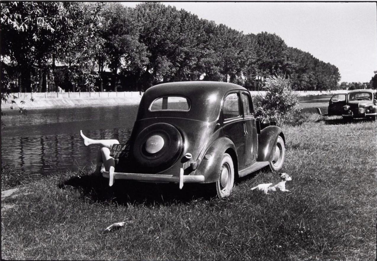1953. На берегу Марны