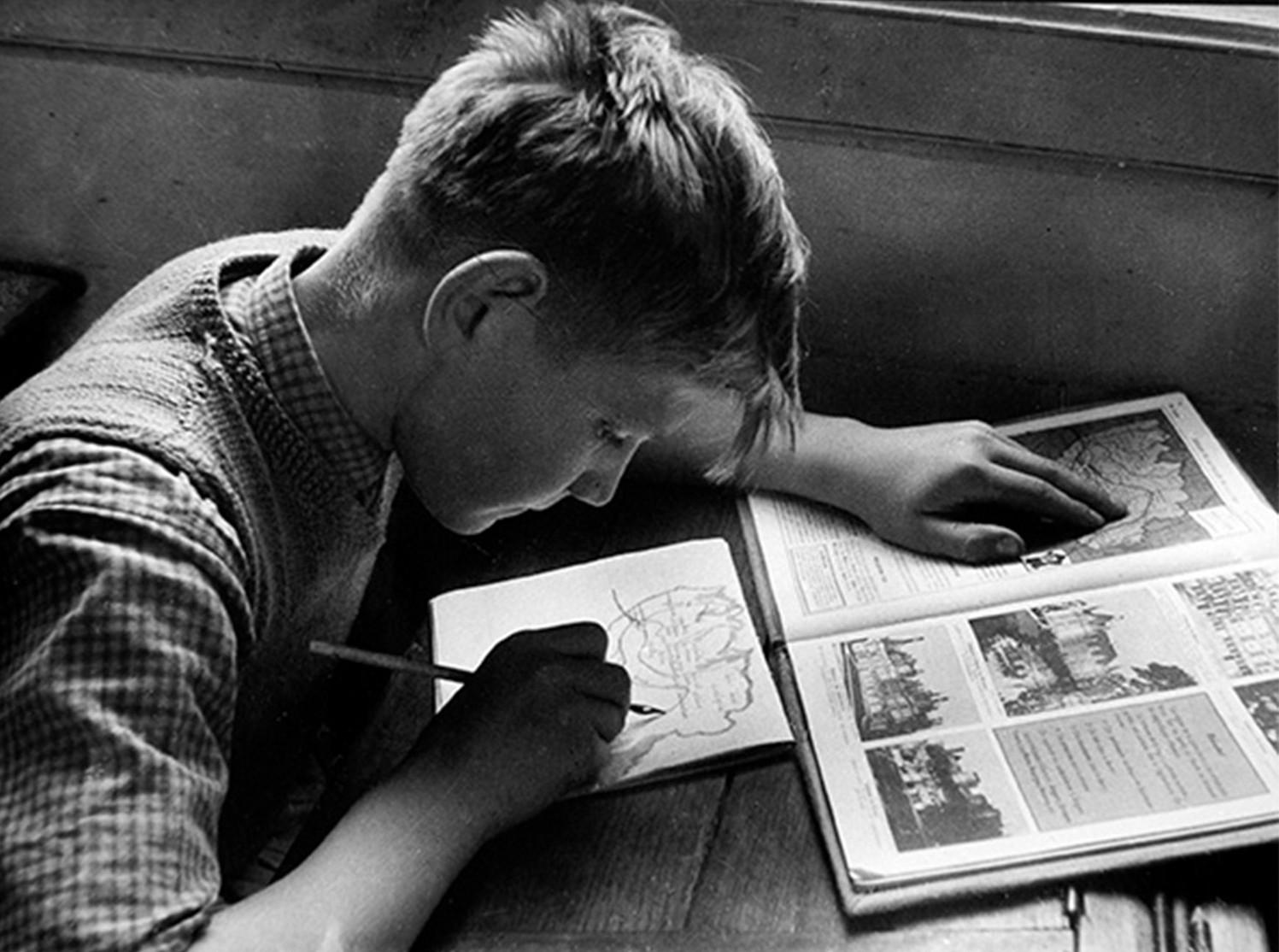 1960. Школьник