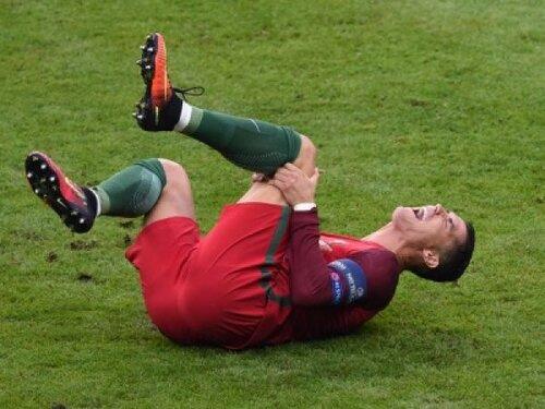Травма Роналду лишила его участия в Суперкубке Европы