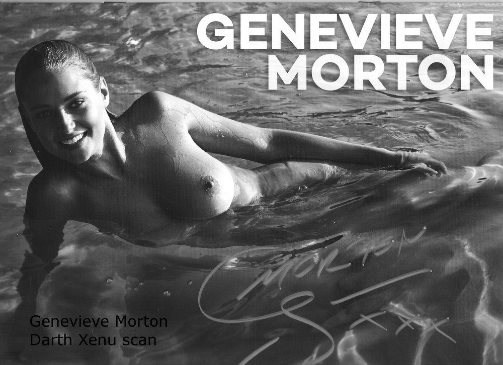 Женевьева Мортон разделась для календаря