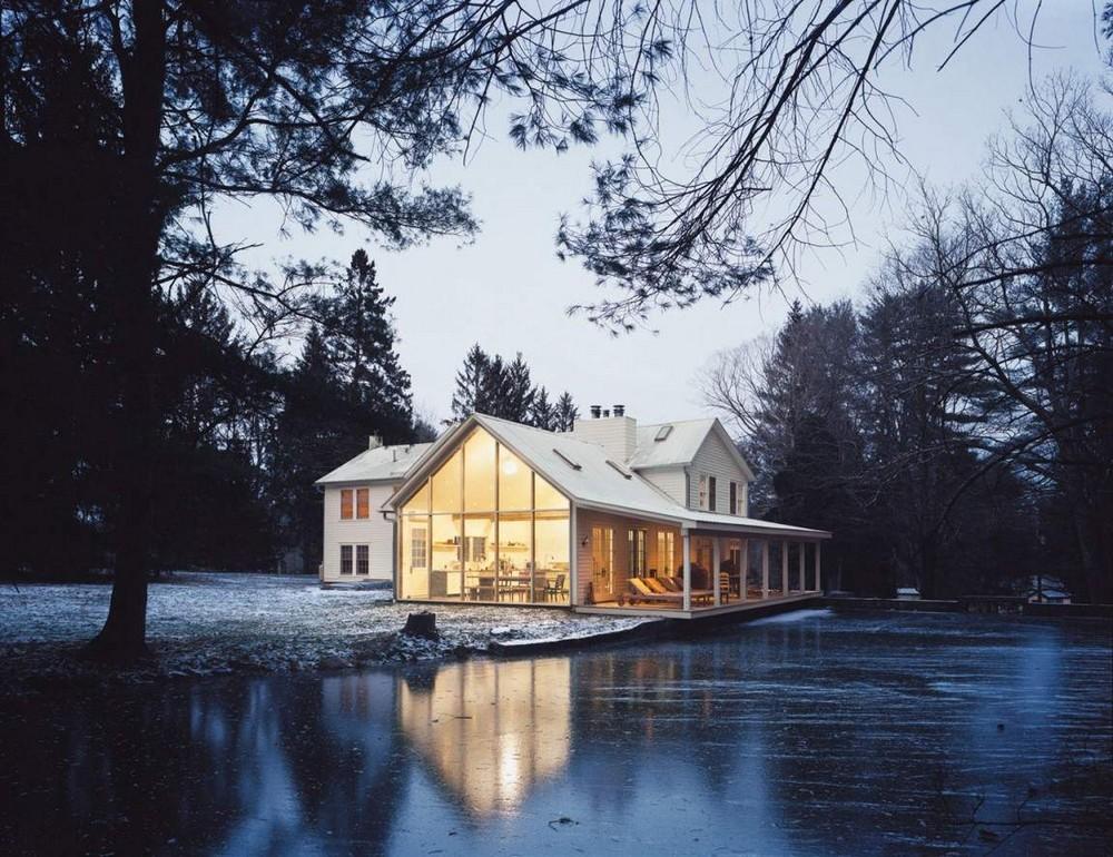Плавающий Фермерский домик в США