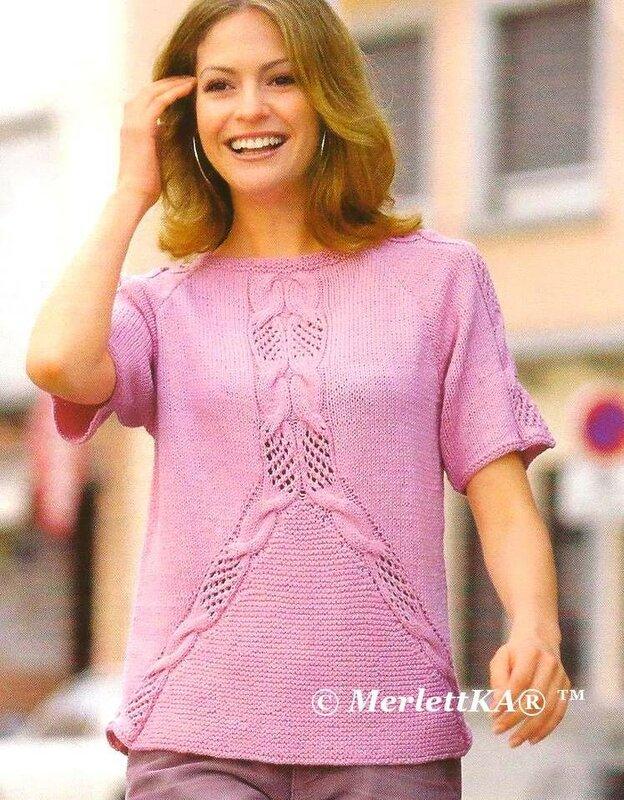 Вязание летней одежды крючком схем