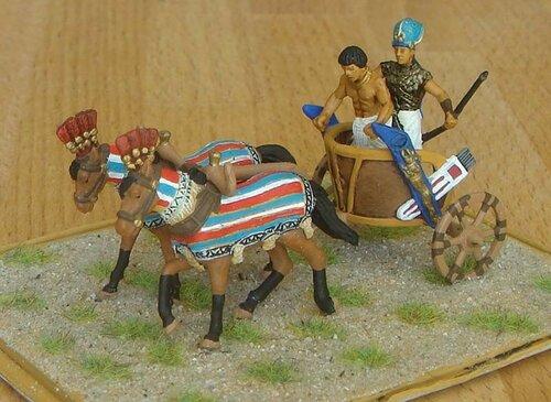 Фараон на колеснице