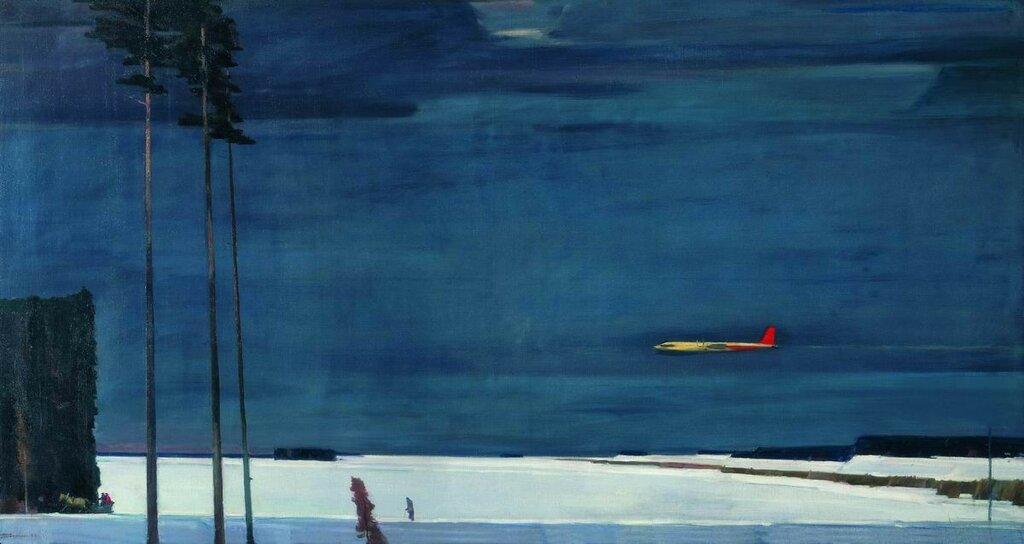 Нисский Георгий Над снегами. 1960
