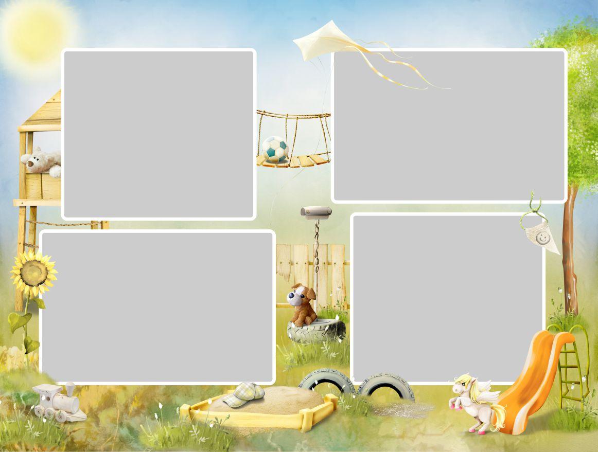 шаблон фотокниги выпускной детский сад