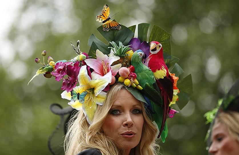«День леди»: парад шляпок на скачках Royal Ascot 2016 0 165a33 8f84fb8a orig