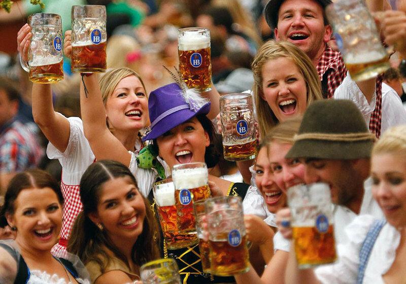 Пивной праздник Октоберфест в Мюнхене в фотографиях и цифрах