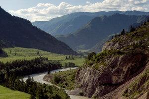 На горных перевалах Алтая