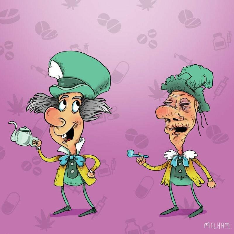 Наркоманы какие то! Герои мультфильмов после злоупотребления тяжелыми наркотиками