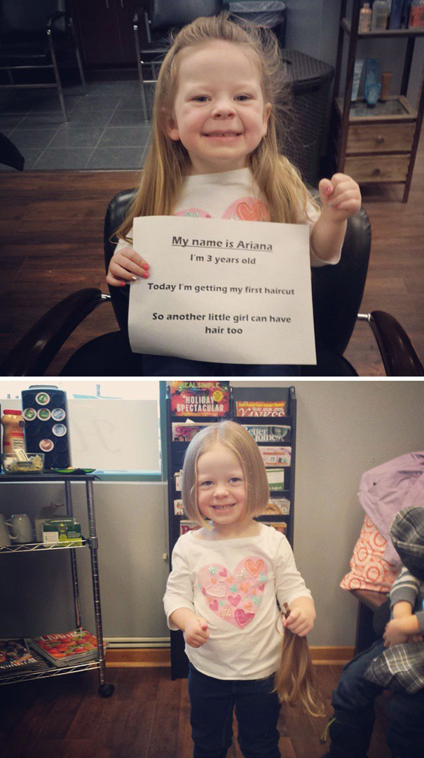 «Однажды моя 3-летняя дочка увидела лысую девочку и спросила, почему у нее нет волос. Я объяснила, ч