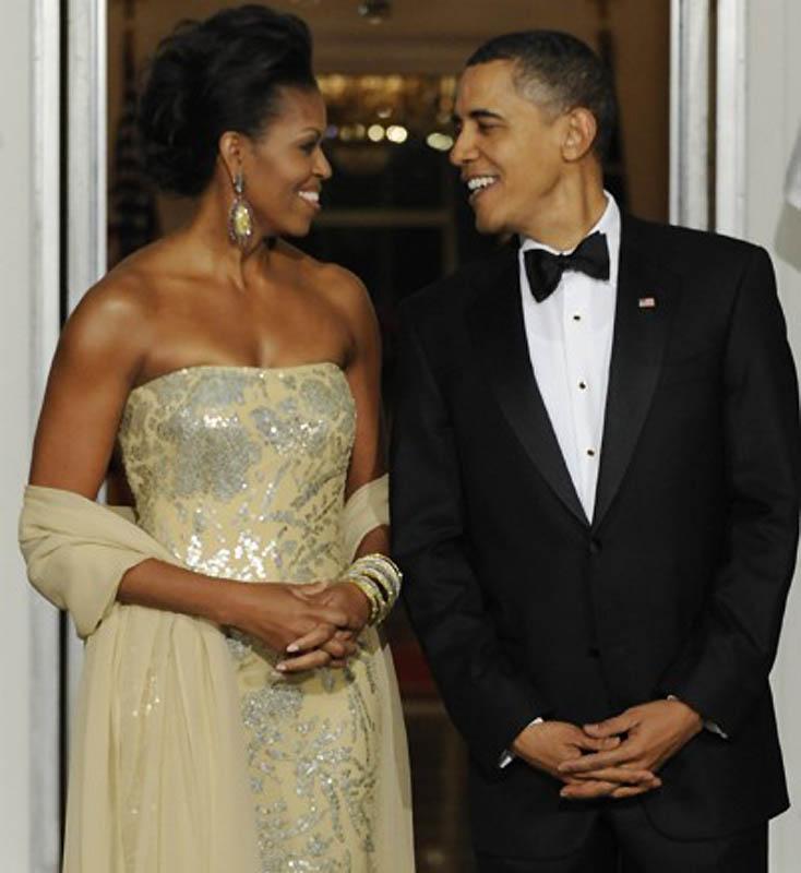 Барак и Мишель Обама. (Susan Walsh / AP Photo) Они познакомились в 1989 году. Поначалу Мишель была л