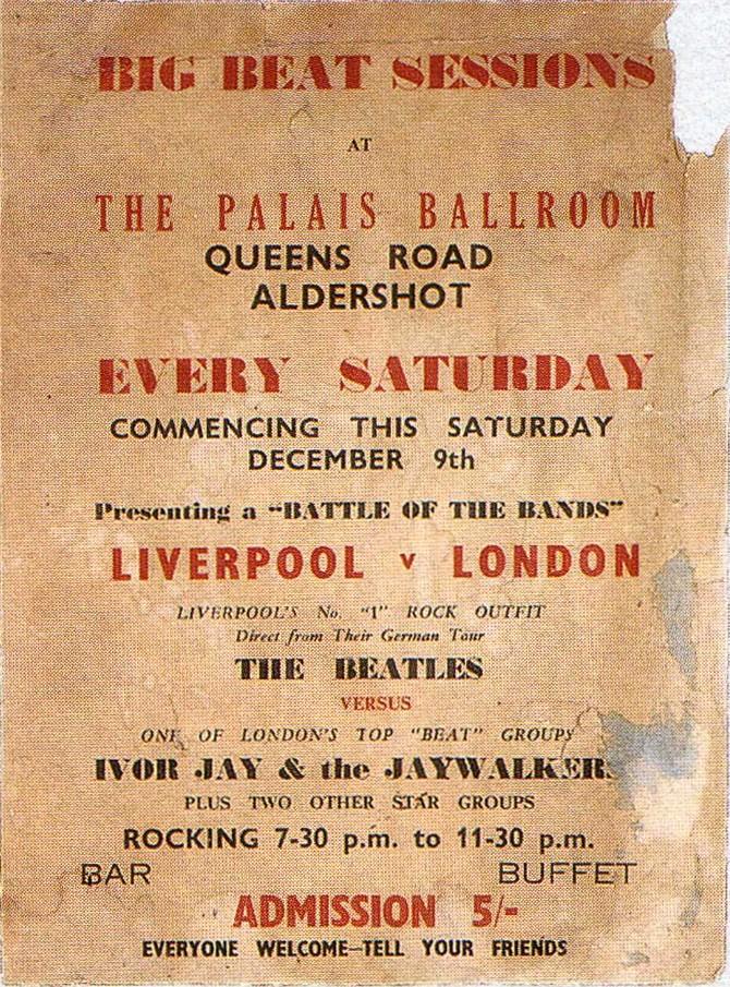 Концерт задумывался как баттл между группами The Beatles из Ливерпуля и лондонской Ivor Jay & the Ja