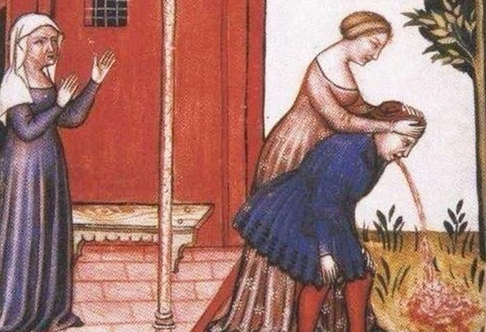Когда детям можно пить вино Бартоломеус Меттлингер в «Книге о детях» предписывает девочкам пробовать
