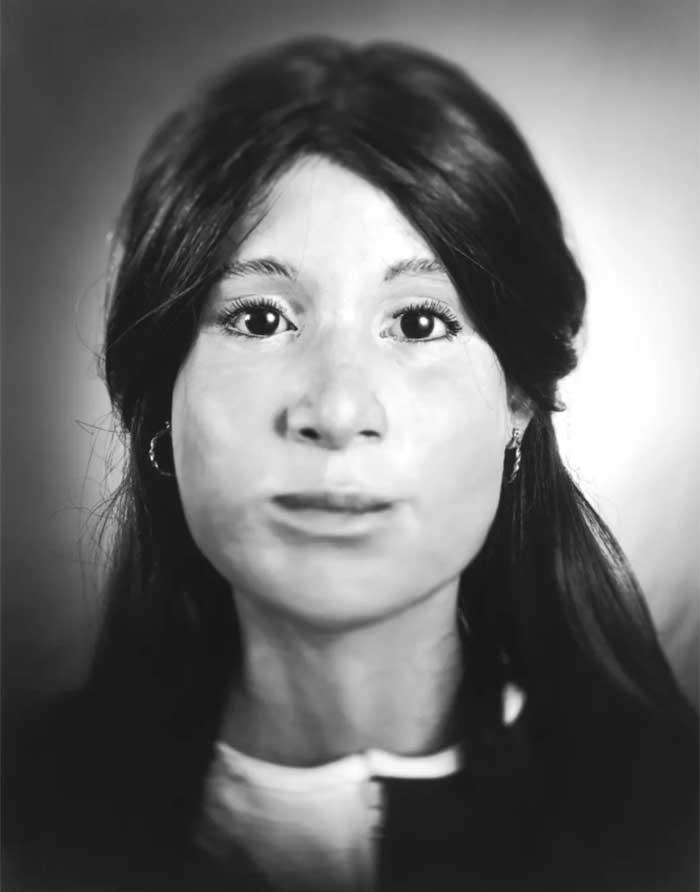 Опознана: Есения Нунгарай. 1 мая 2003 года в холщовом мешке, выброшенном за рестораном в округе Алам