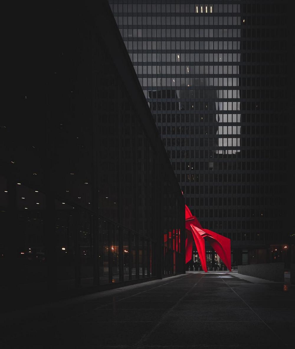 Хмурый Чикаго от Майка Майерса