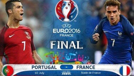 Составы команд нафинал Евро-2016 Франция— Португалия 0 14