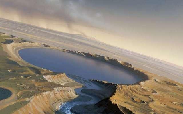 Ученые поведали овкусе воды наМарсе