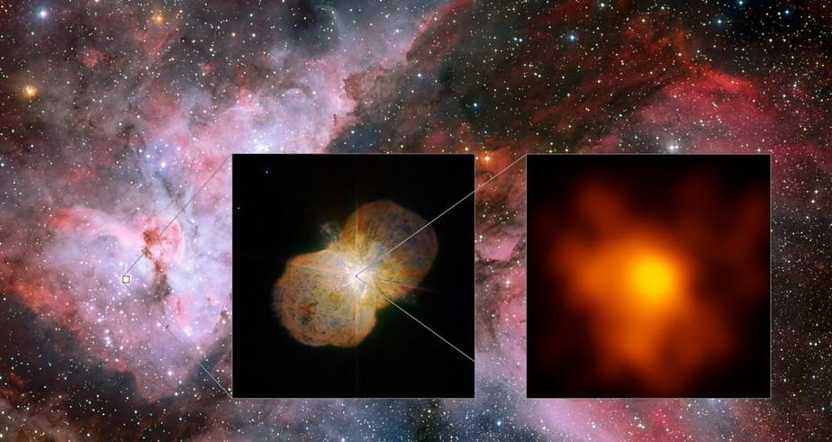 Размещены новые фото звезды, способной убить жизнь наЗемле