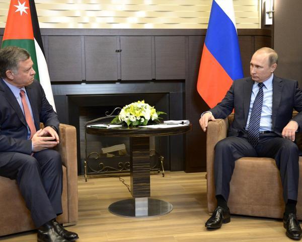 ВКремле готовятся квизиту короля Иордании, которого Путин пригласил в российскую столицу