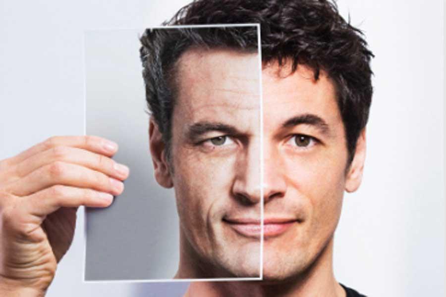 Ученые доказали, что умужчин кожа стареет медленнее, чем уженщин