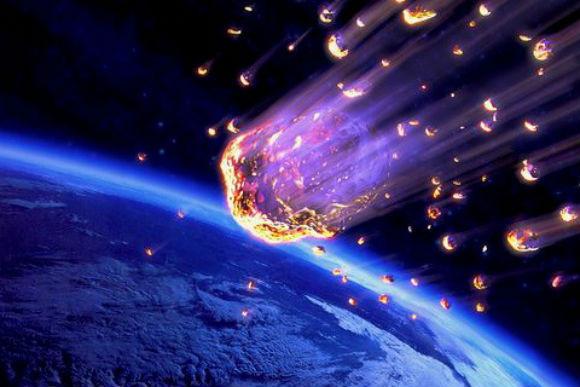 Ученые: Метеориты вызвали наЗемле вулканическую активность