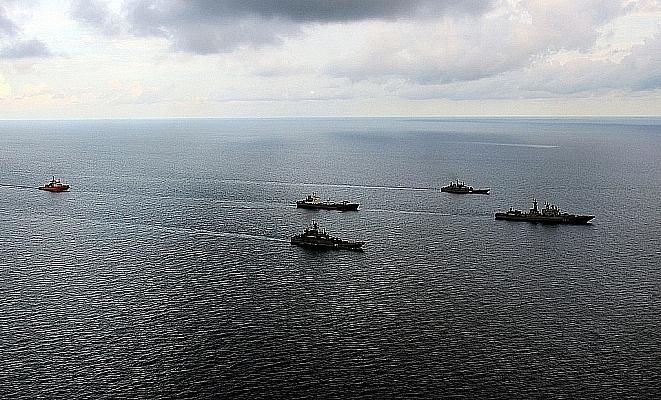 Японские компании работают над беспилотными грузовыми морскими судами