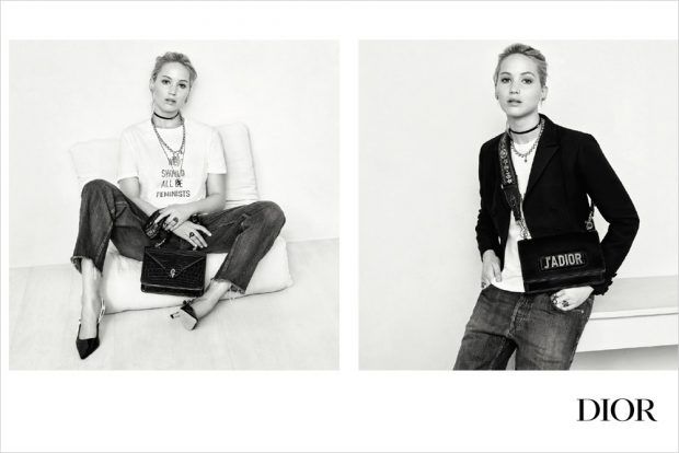 Jennifer Lawrence is the Face of Christian Dior Handbags SS17
