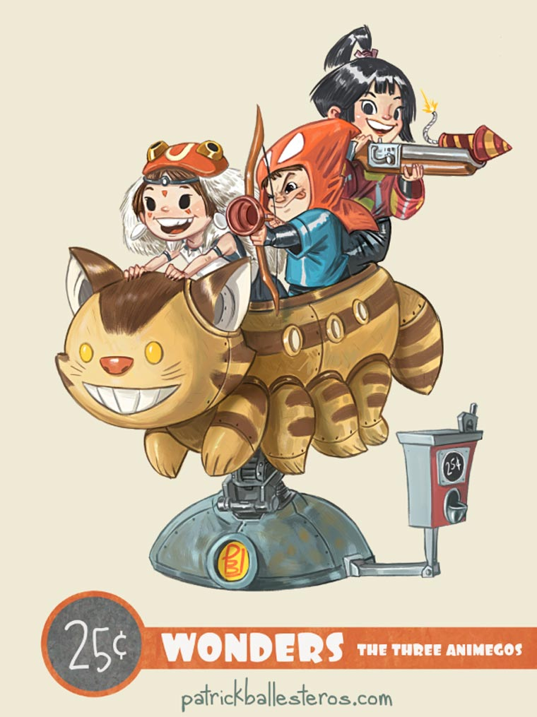 When heroes fall back in childhood - A new series of cute pop culture rides!