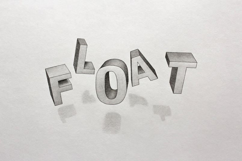 More 3D Typography by Lex Wilson