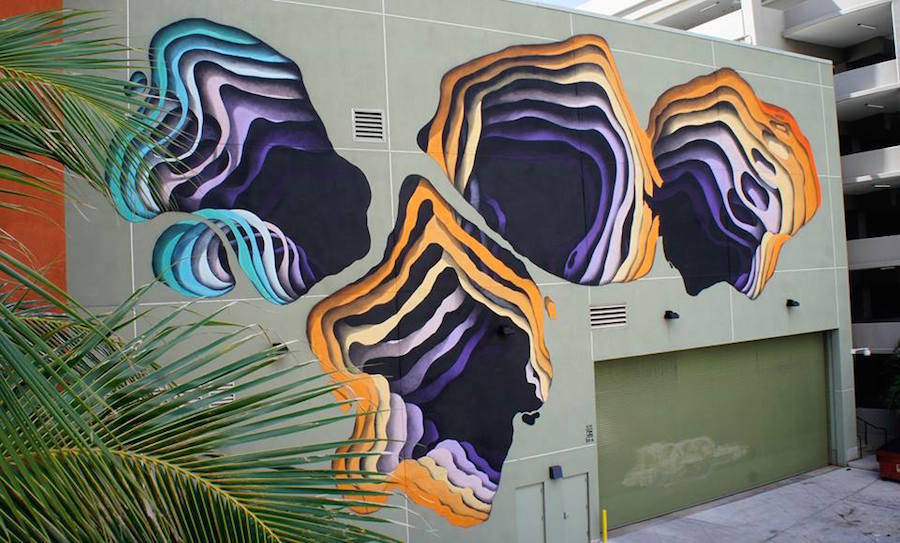 Amazing 3D Murals with an Impression of Depth