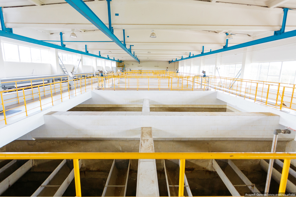 Как очищают воду на водопроводной станции «Малиновая гряда»