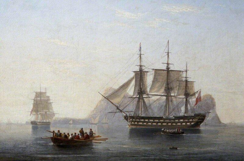 Seventy-Four off Gibraltar