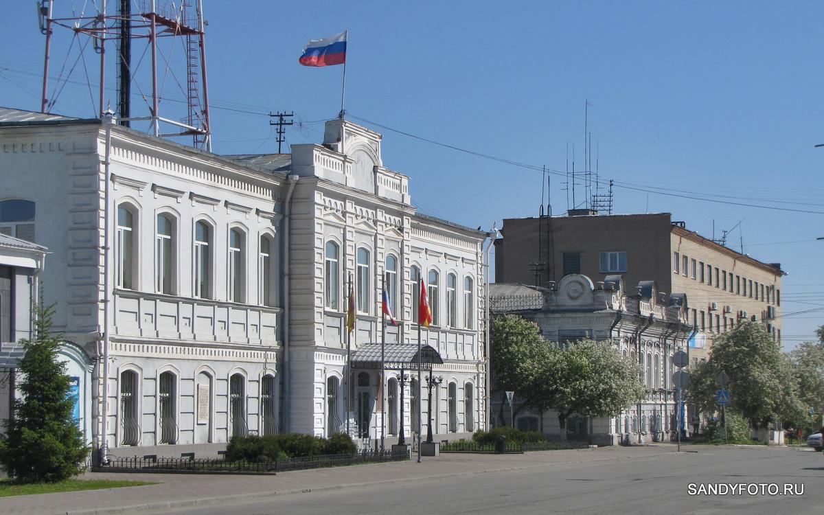 Цветущий Троицк — Центральная Площадь —  часть четвёртая