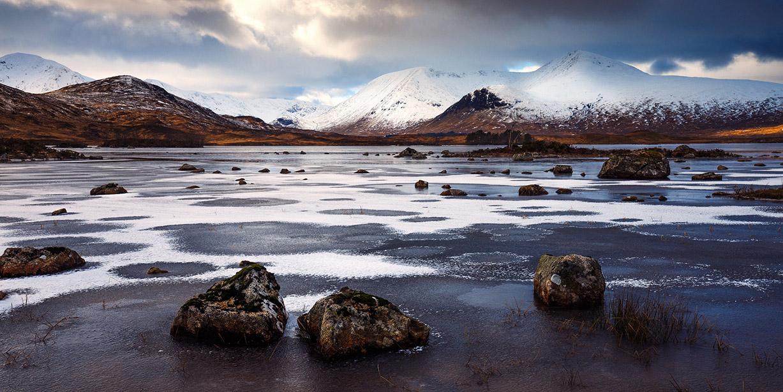 Очарование горных пейзажей в проекте Огни Шотландии / Lumieres D'Écosse by Nicolas Rottiers