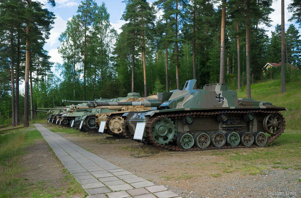 Танковый музей в Финляндии