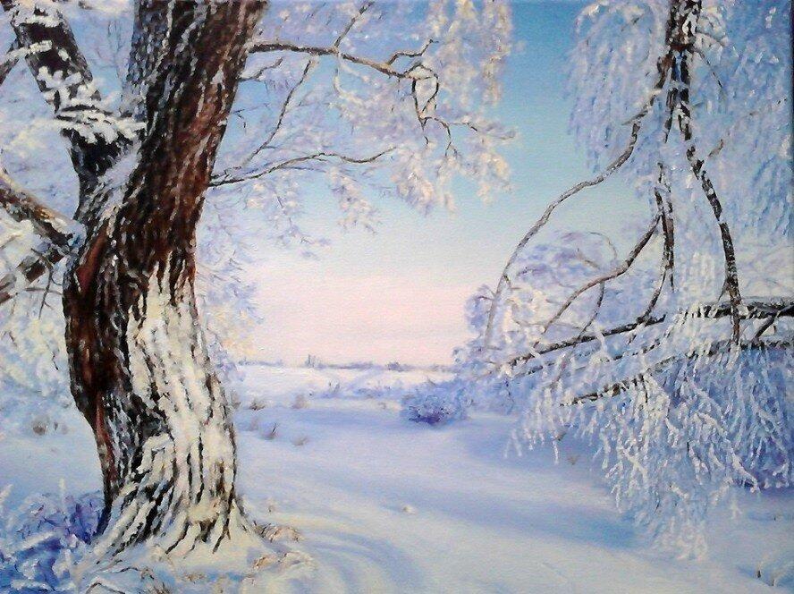 Инна Щеглова. Морозный день.jpg