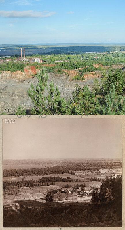 Разработка руды на горе Благодать.
