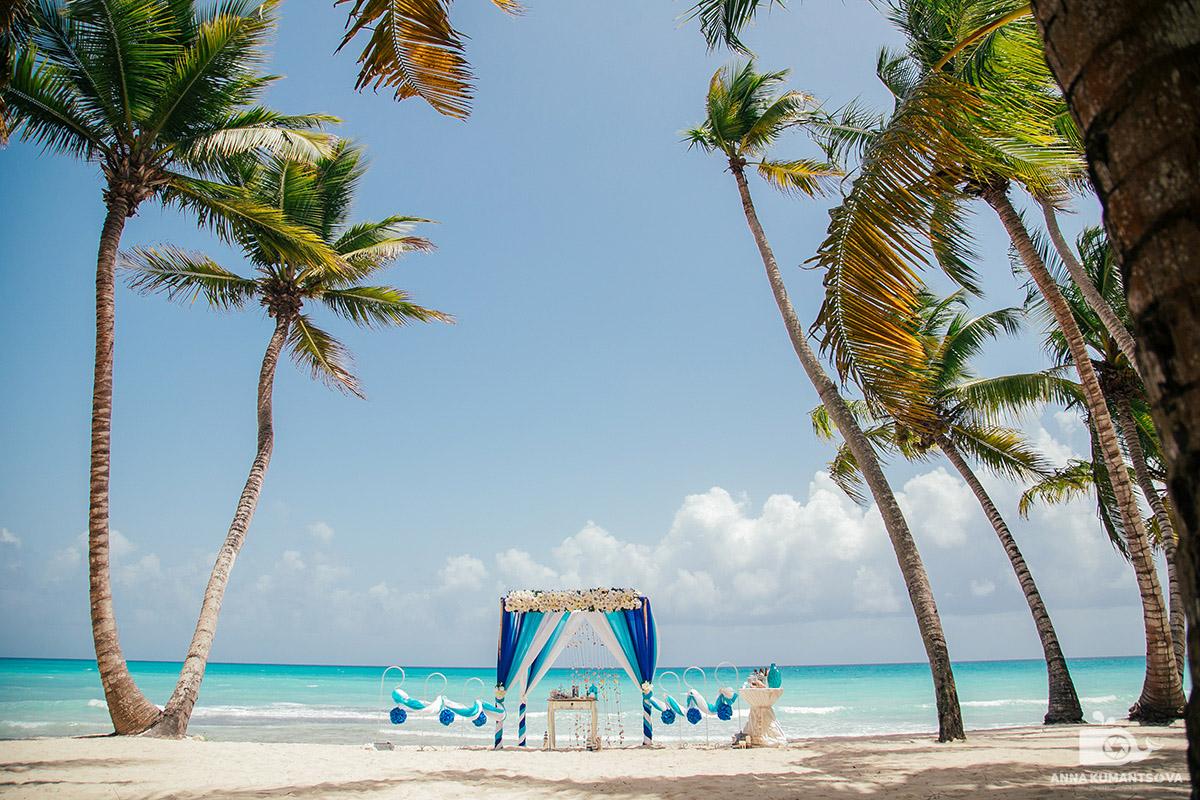 Как проходит свадьба на острове Саона