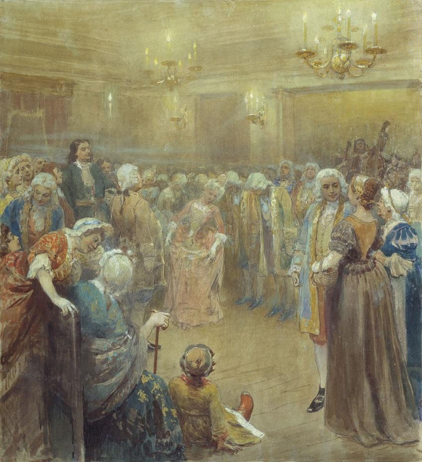 Ассамблея при дворе Петра I