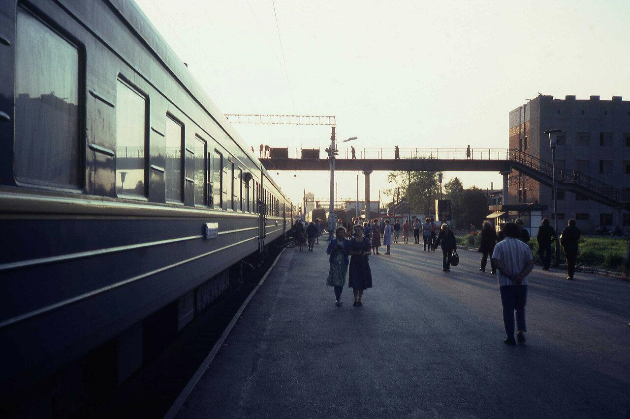 Неопознанная станция железной дороги