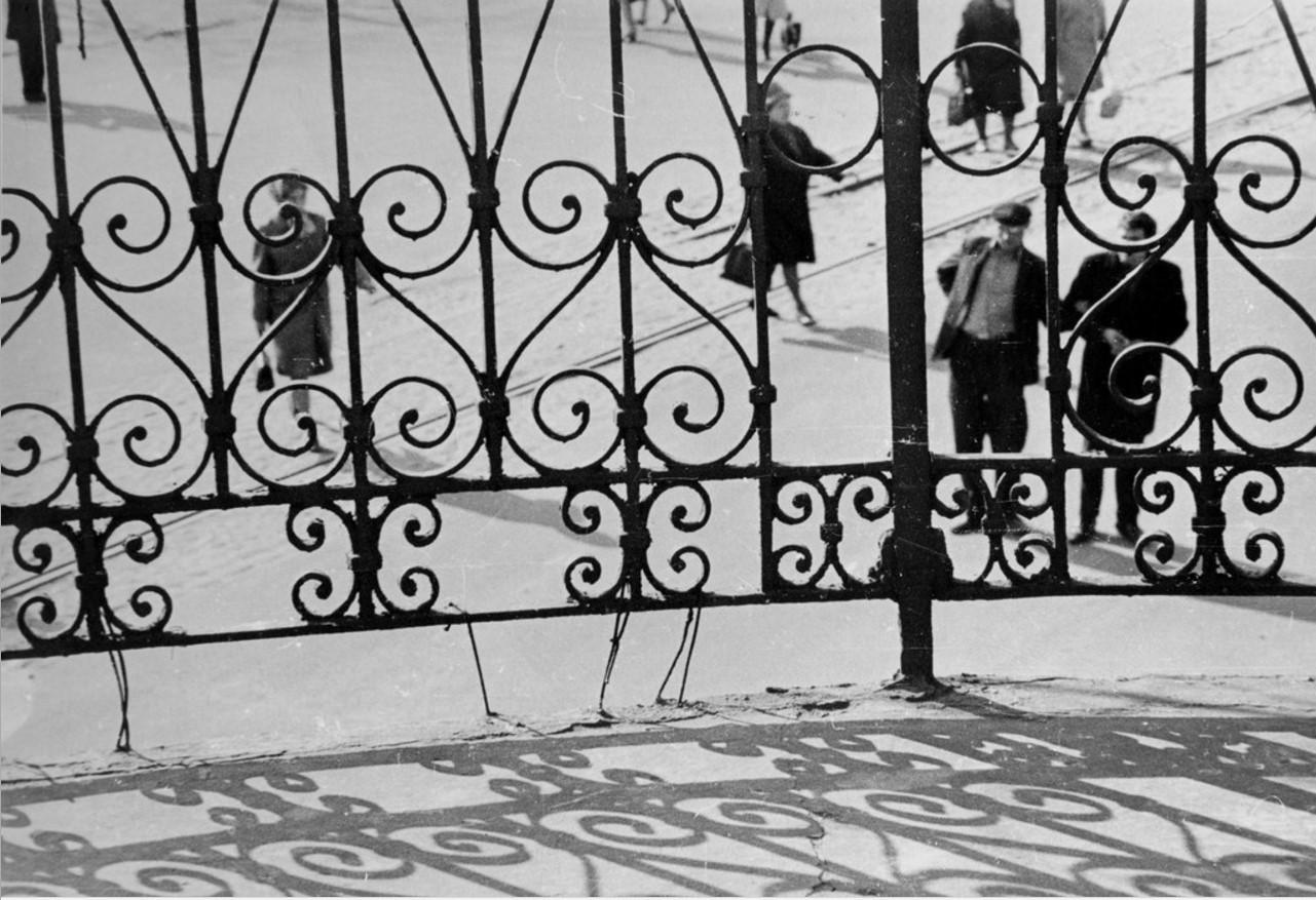 1965. Вид с балкона