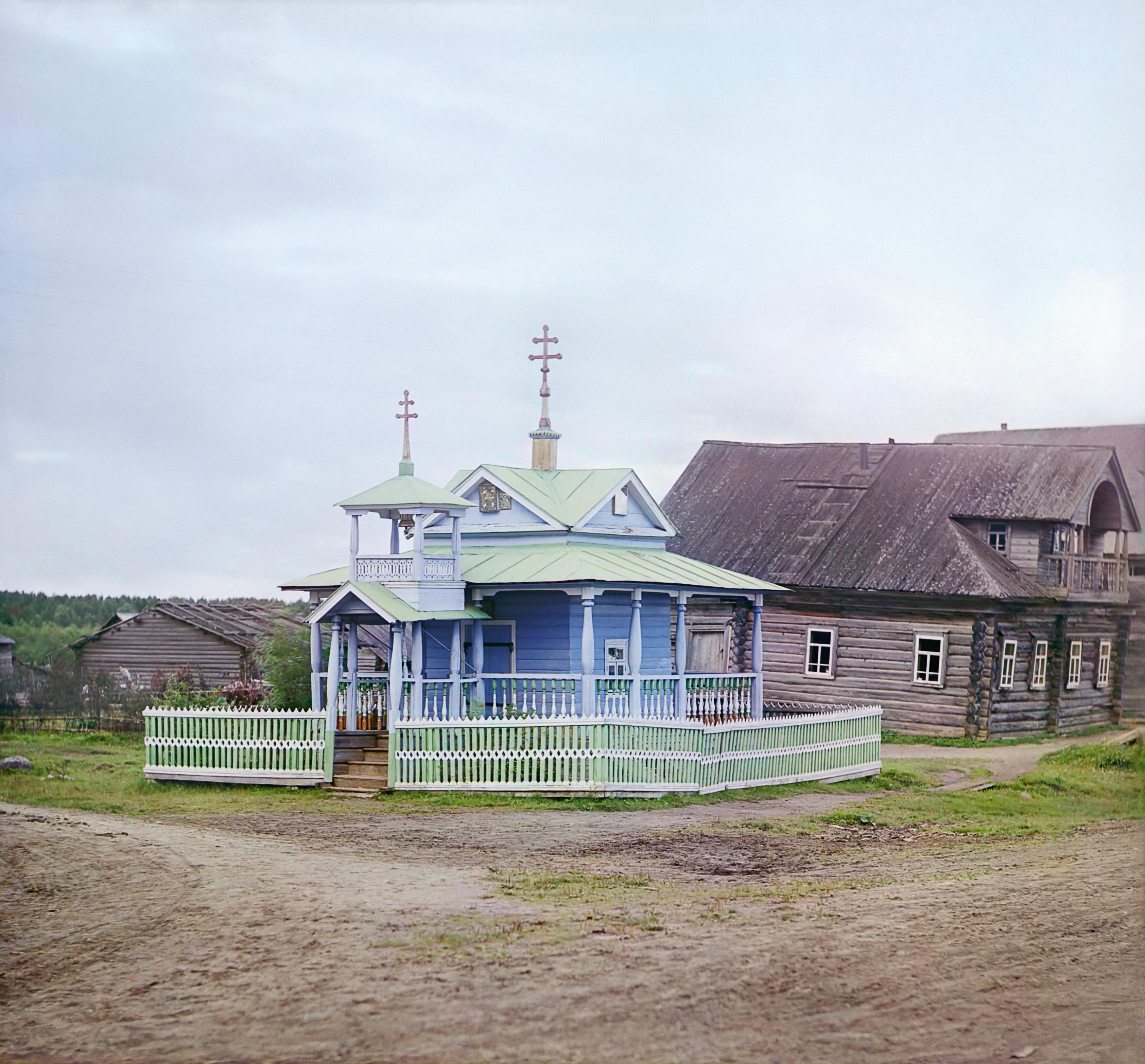 Деревня Топорня. Часовня