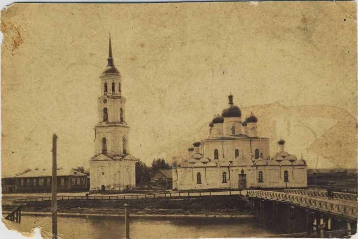 Собор и колокольня
