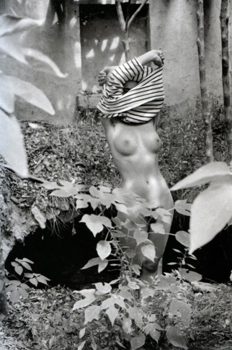1970. Обнаженная в лесу