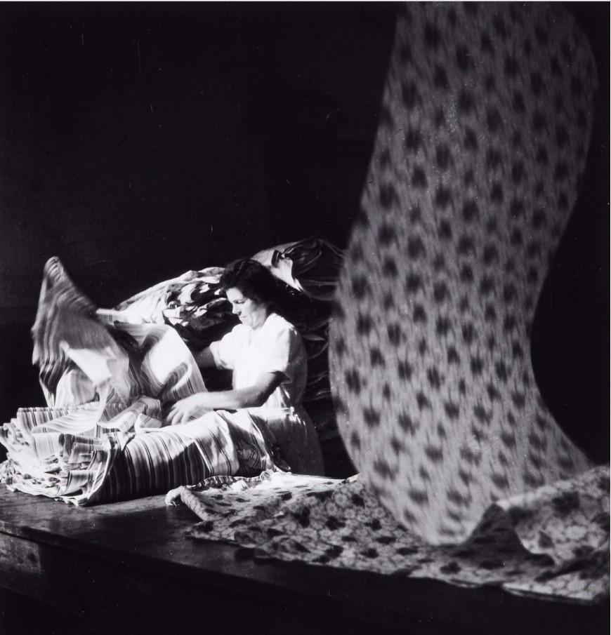 1950. Текстильная промышленность