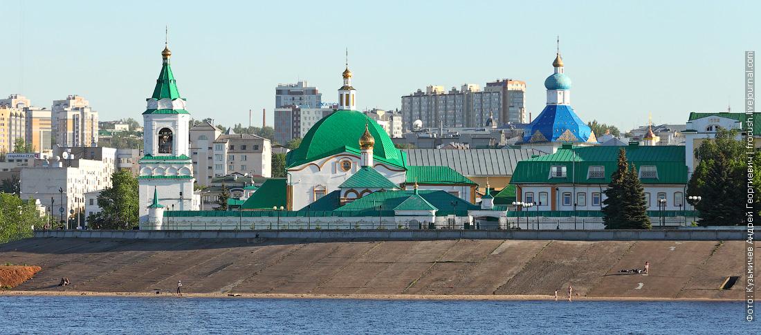 Чебоксары Свято-Троицкий православный мужской монастырь