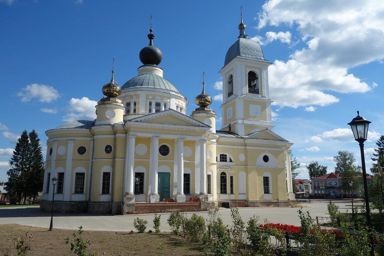 Успенский храм (собор), нач. 19 в.