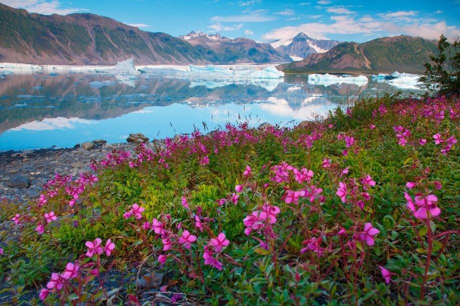 Одни из самых красивых мест на Аляске
